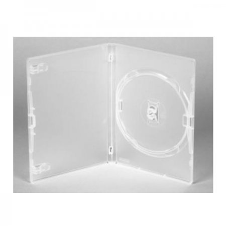 Caja DVD 14mm Amaray Transparente Pack 50