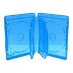Caja BluRay Estandar 22mm - 6 Discos - MediaRange 30 uds