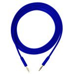 Cable de Audio Jack Estereo 3.5mm Bluestork 1.5m Azul