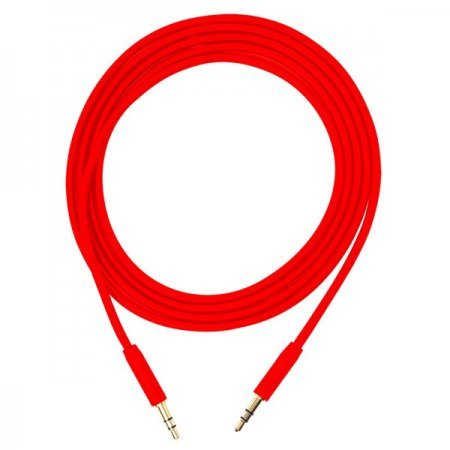 Cable de Audio Jack Estereo 3.5mm Bluestork 1.5m Rojo