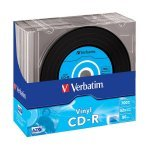 CD-R 52x 700MB Verbatim AZO Vinyl Slim Case pack 10 pcs