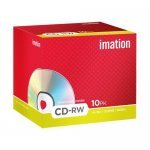CD-RW 12x 700MB Imation Regrabable Caja Jewel pack 10 uds