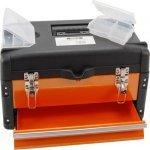 Caja de herramientas metalica con organizadores bandeja y - Caja de herramientas metalica ...