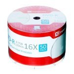 DVD-R 16X Mirror FF Printable cello 50 pcs