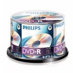DVD-R 16X Philips Tarrina 50 uds