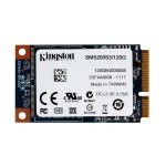 Disco Duro SSD 120GB Kingston Now mS200 mSATA