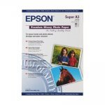 Epson Papel Foto Glossy C13S041316 250 G/m2 Pack 20 uds A3+