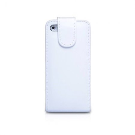 iPhone 5 IQWO Funda Libro Blanco