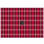"G-Cube Notebook Skin Max 17"" - Mad for Plaid Red"