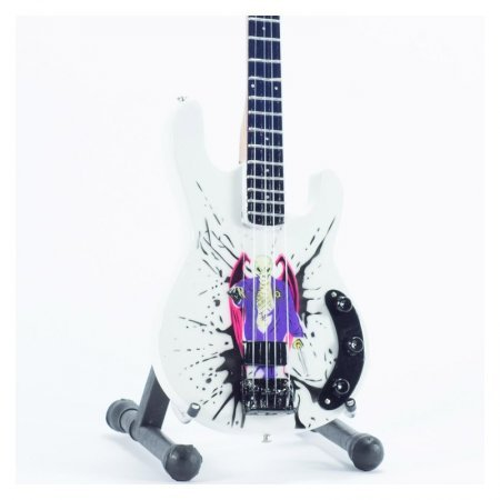 Mini Guitarra De Colección Estilo Avenged Sevenfold - Johnny Christ Bass - Mr.De