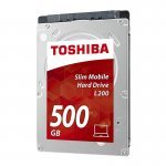 "2.5"" Disco Duro 500GB Toshiba L200 - Slim Mobile Bulk 8MB 5400RPM"