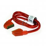 21 Pin Fully Wired SCART to SCART 1.5m - RED (Bulk)