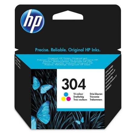 HP 304C Cartucho de Tinta Original Tricolor