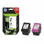 HP 62 Cartucho de Tinta Original Pack Negro + Color