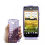 HTC One S Z520e TPU Case Translucid - Purple
