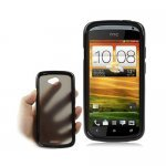 HTC One S Z520e TPU Case Translucid - Black