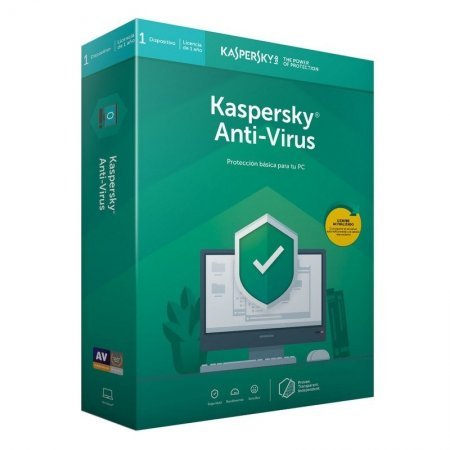 Kaspersky Anti-Virus 2019 1 Dispositivo