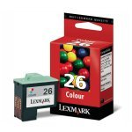 Lexmark No.26 (10N0026E) Original Ink Cartridge High Resolution