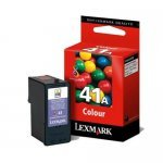 Lexmark No.41A (18Y0341E) Original Ink Cartridge Colour