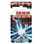 CR1616 3V Lithium Button Cell Maxell 1 pcs