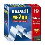 Diskettes Maxell 1.44MB MF2HD Pack de 10 Uds