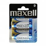 Pila Alcalina D Maxell Pack 2uds