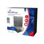 Mediarange CD Estuche Slim Case Pack 10 Uds.