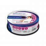CD-R Audio FF Printable MediaRange 80 min Cake 25 pcs