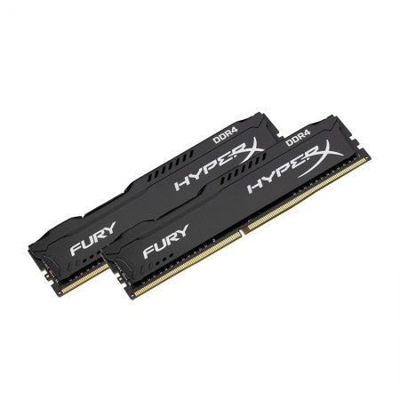 Memoria Kingston HyperX Fury Black 16GB (2x8) DDR4 2666MHz CL15 Dual Rank