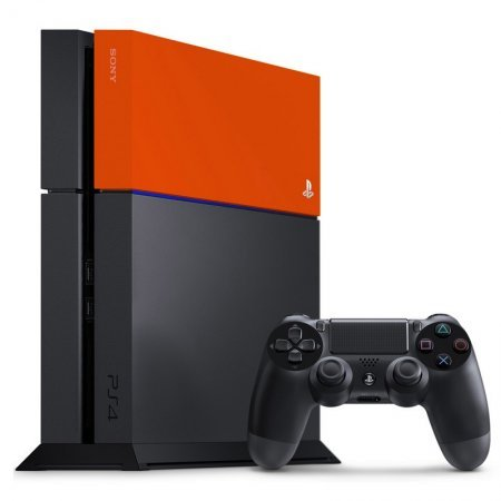 PS4 Sony Carcasa HDD Naranja