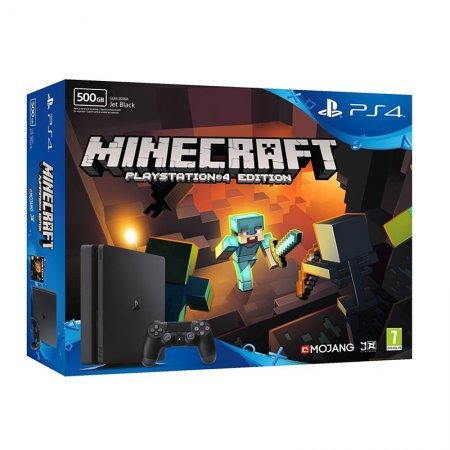 Sony PlayStation 4 Slim 500GB + Minecraft