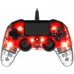 PS4 Gamepad Nacon Wired Rojo Transparente
