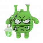 Pendrive 16GB Mooster Toons Angry Monster MX 287