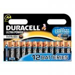 Pila Alcalina AA Duracell Ultra Power MX1500B12 pack 12 uds (LR6)