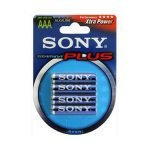 Pila Alcalina AAA Sony Stamina Plus Pack 4 uds (LR3)