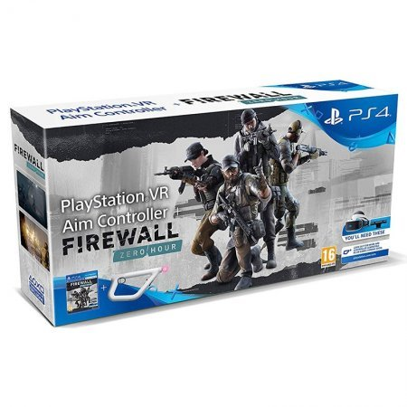 PS4 Juego Firewall VR + AIM Controller