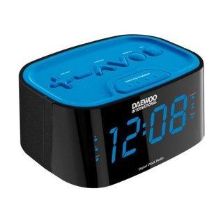 Radio Reloj Despertador Daewoo DCR-45 Azul