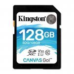 Kingston Canvas Go! Tarjeta SDXC 128GB Clase 10 UHS-I U3 V30
