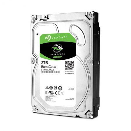 3.5 Disco Duro 2TB Seagate BarraCuda ST2000DM006 7200RPM 64MB 6GB/S