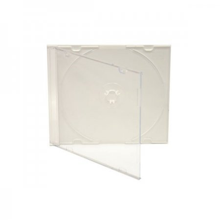 MediaRange CD Estuche Slim Case Blanco Pack 100 Uds