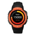 Smartwatch Leotec Black Diamond Orange