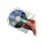 MediaRange CD/DVD Plastic Sleeves with flap 50 pcs