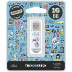 Pendrive 16GB Tech1Tech TEC4005-16 Be Bike