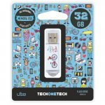 Pendrive 32GB Tech1Tech TEC4005-32 Be Bike