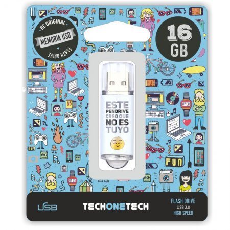 Pendrive 16GB Tech1Tech TEC4007-16 Noestuyo