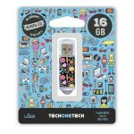 Pendrive 16GB Tech1Tech TEC4001-16 Candy Pop