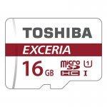 Tarjeta MicroSDHC 16GB Clase 10 UHS-I Toshiba EXCERIA M302-EA c/Adapt