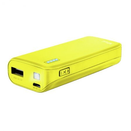 Power Bank Trust Primo 4400MAH Neon Yellow