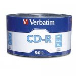 CD-R 52x 700MB Verbatim Extra Protection Bobina 50 uds