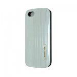 iPhone 5 / 5S IQWO Funda Cover Trasero Duro Blanco